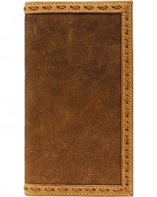 Ariat Leather Laced Rodeo Wallet