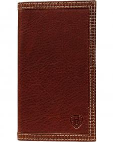 Ariat Brown Leather Rodeo Wallet