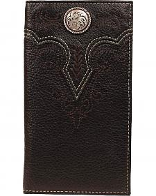 Ariat Silver-tone Concho Rodeo Wallet