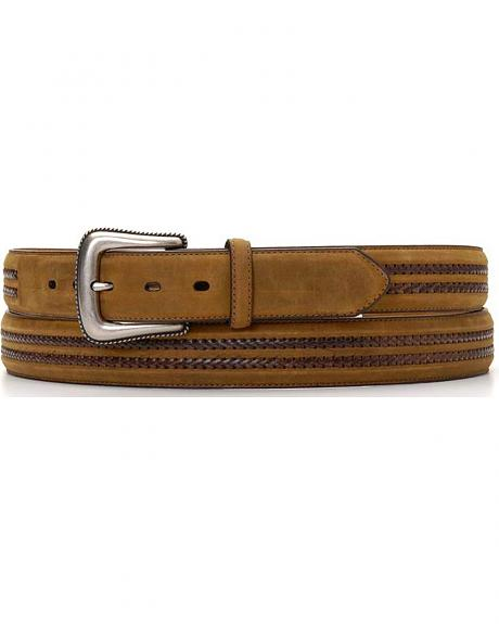 Double Leather Laced Belt