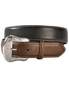 Nocona Concho Billet Leather Belt