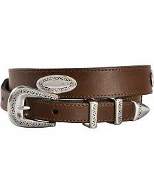 Nocona Basic Leather Concho Belt