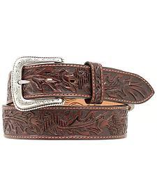 Nocona Tooled Leather Belt