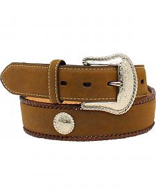 Nocona Men's Hired Hand Work Leather Belt