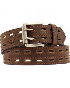 Nocona Double Prong Hole Leather Belt