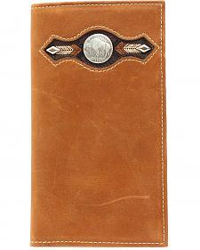 Nocona Buffalo Nickel Concho Rodeo Wallet