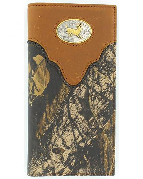 Nocona Mossy Oak Buck Concho Rodeo Wallet