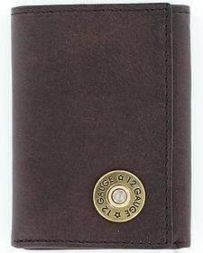 Nocona Shotgun Shell Tri-fold Wallet