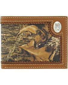 Nocona Mossy Oak Deer Concho Bi-Fold Wallet