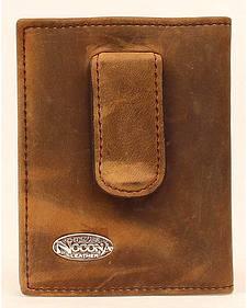 Nocona Logo Concho Money Clip Wallet