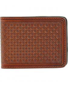 Nocona Saddle Stamp Money Clip Bi-Fold Wallet