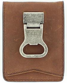 Nocona Money Clip Bi-Fold Wallet