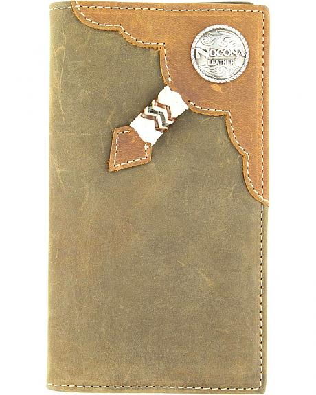 Rodeo Rawhide Lacing & Logo Concho Rodeo Wallet