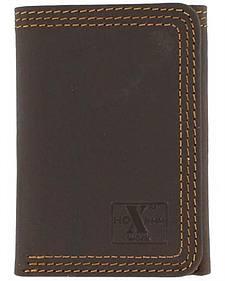 Nocona HDX Triple Stitched Tri-Fold Wallet