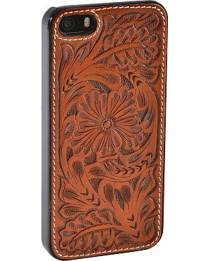 Justin Floral Tooled iPhone 5/5S Cell Phone Case