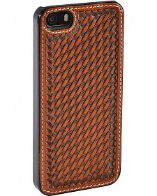 Justin Basketweave iPhone 5/5S Cell Phone Case