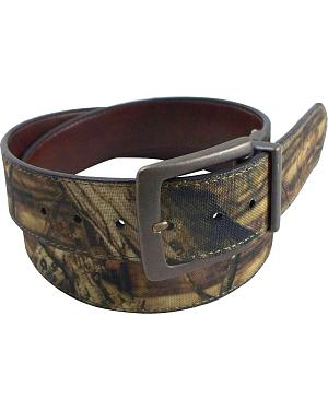 Mossy Oak Reversible Camo Belt