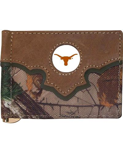 University of Texas Camo Print Wallet Western & Country 3207739-951