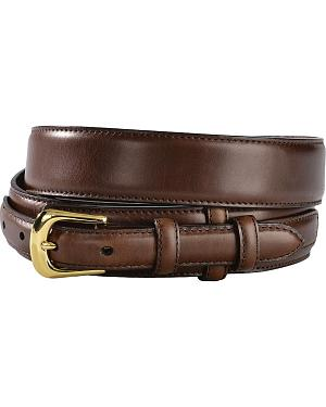 3D Brown Leather Ranger Belt