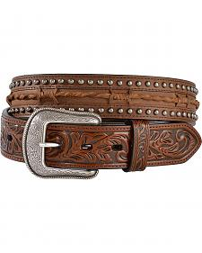 3D Twisted Barbed Wire Leather Belt