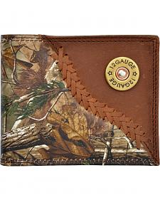 3D Badger Camo Leather Outdoor Bi-Fold Wallet