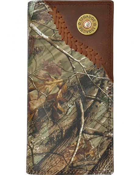 3D Badger Camo Leather Outdoor Rodeo Wallet