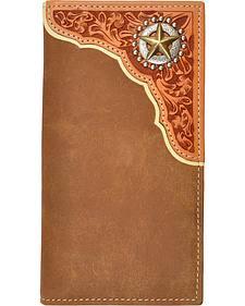 Tony Lama Star Concho Rodeo Wallet