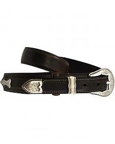 Roper Ranger Concho Leather Belt
