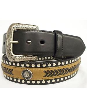 GD Concho Leather Belt