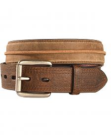 Ariat Distressed Striped Leather Belt