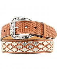 Ariat Diamond Conco Leather Belt