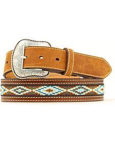 Nocona Beaded Aztec Belt