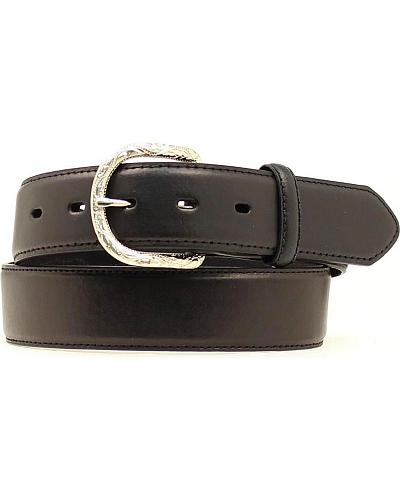 Nocona Classic Black Leather Belt Western & Country N2483601