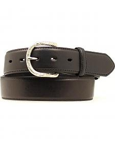 Nocona Classic Black Leather Belt