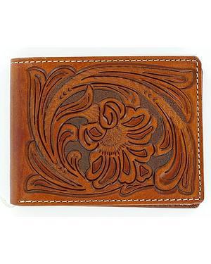 Nocona Tooled Bi-Fold Wallet