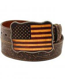 Nocona Embossed Thunderbird Belt