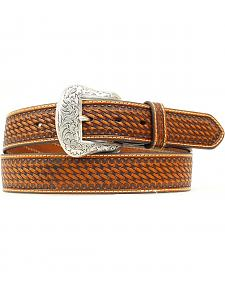 Nocona Basketweave Concho Belt