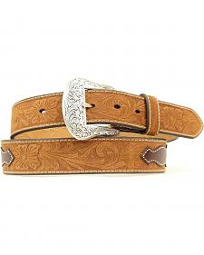 Nocona Top Hand Aztec Inlay Belt