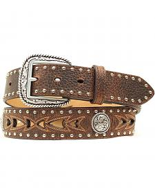 Nocona Fancy Cutout & Concho Belt
