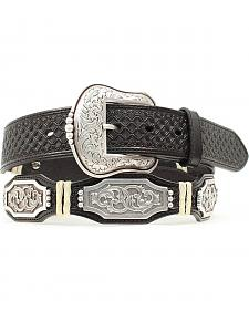 Nocona Scalloped Rectangle Concho Belt