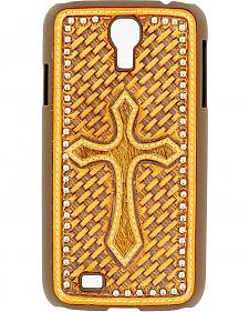Nocona Basketweave Cross Galaxy S4 Case