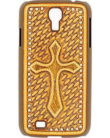 Nocona Basketweave Cross Galaxy S4 Case