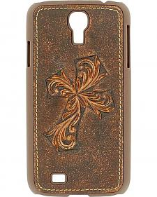Nocona Distressed Diagonal Cross Galaxy S4 Case