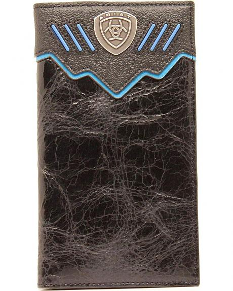 Ariat Logo Concho Rodeo Wallet