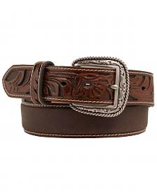 Ariat Tooled Billet Leather Belt
