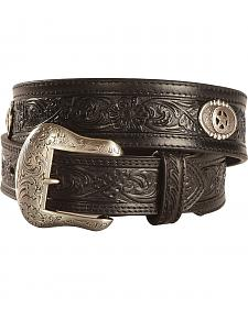 Nocona Tooled Concho Belt