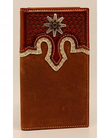 Nocona Rodeo Basket Overlay Wallet
