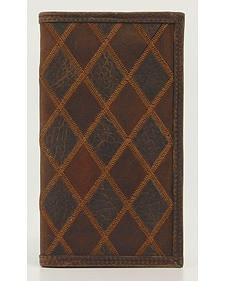 Nocona Patchwork Rodeo Wallet