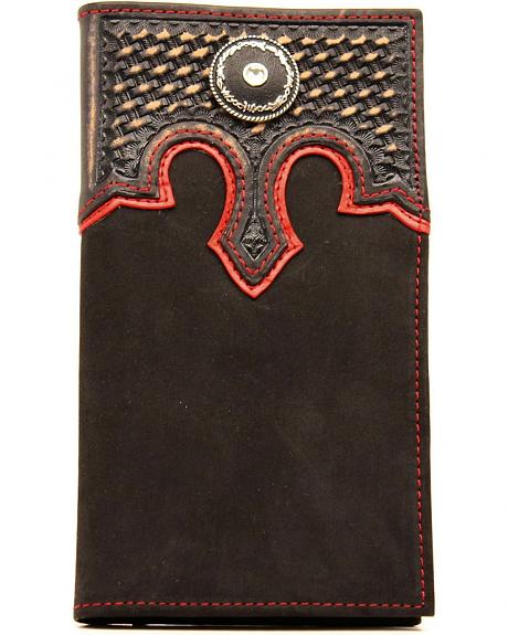 Nocona Barbed Wire Conch Rodeo Wallet