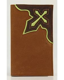 Nocona Cross Inlay Rodeo Wallet